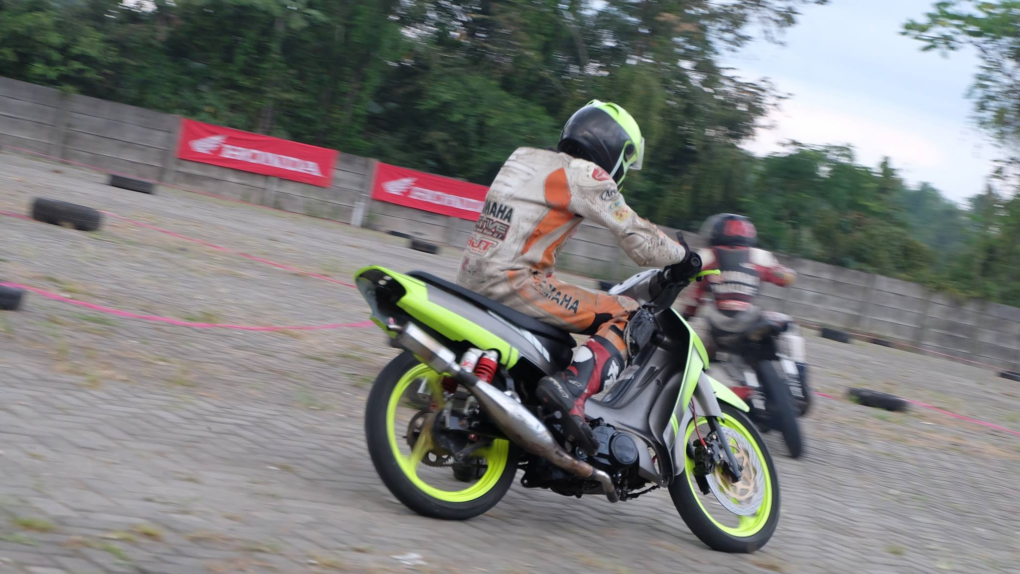 Latihan Bersama Balap Motor 2018 di Seven Dream City