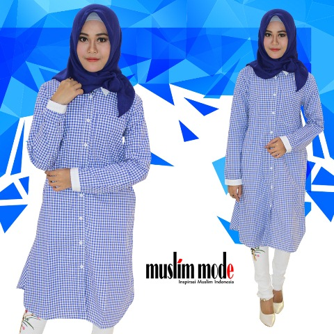 Simply Blue by Muslim Mode