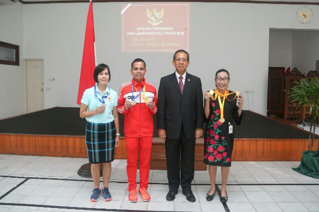 Tim Atletik Senior Indonesia Borong Medali di Sri Lanka