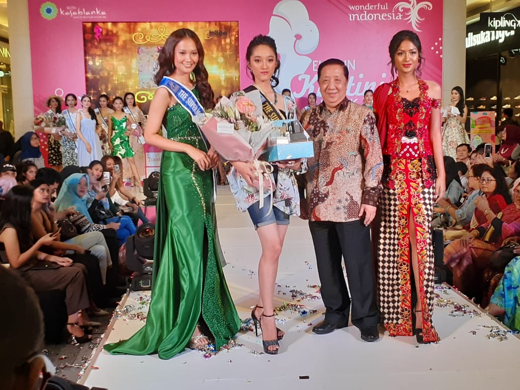 Christine Steffany Raih Gelar The Supermodel Indonesia 2019