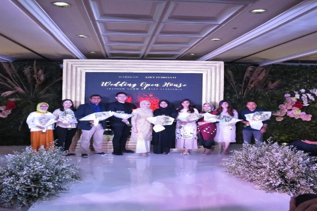 Desainer Asky Febrianti Persembahkan  Indonesia Beauty 2019 di Wedding Open House